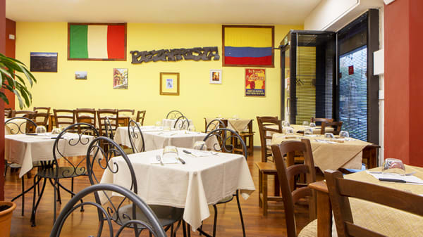 Vista della sala - Ristorante Pizzeria Steakhouse Fuorigioco, Firenze