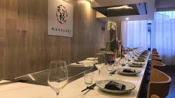 Salle du restaurant - Manayaki, Montrouge