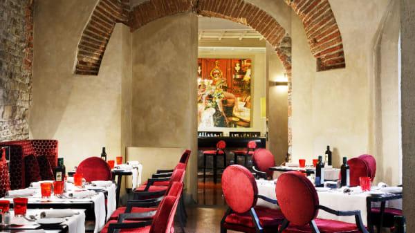 Vista sala - Osteria Pagliazza, Florence