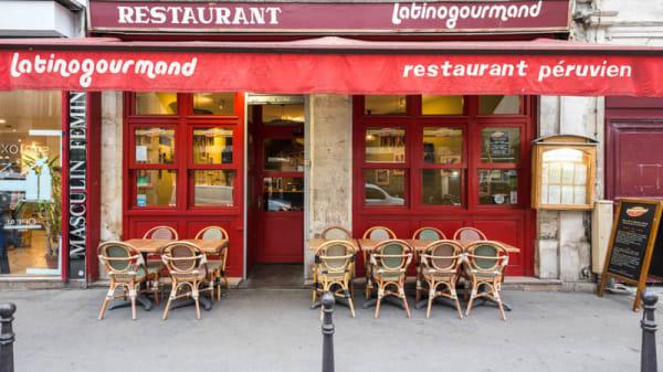Entrée - Latinogourmand La Fayette, Paris