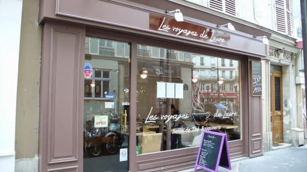 Les voyages de Laure, Paris