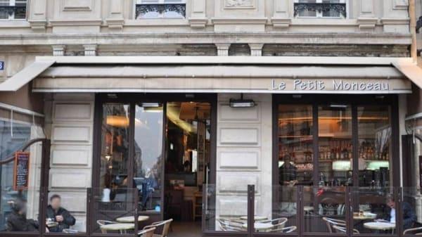 Façade - Le Petit Monceau, Paris