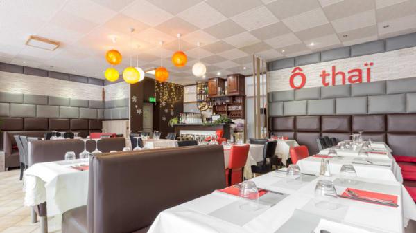 Salle du restaurant - O Thaï, Lyon
