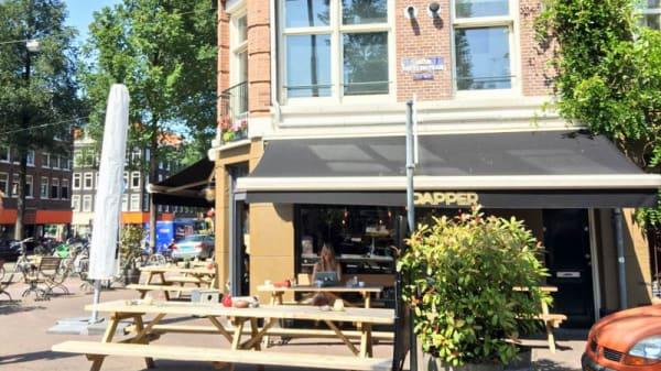 Terras - Bar Dapper Amsterdam, Amsterdam
