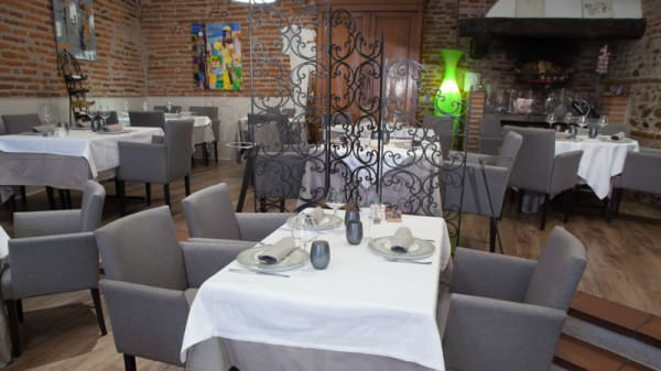 Salle de restaurant - Le Lautrec, Albi