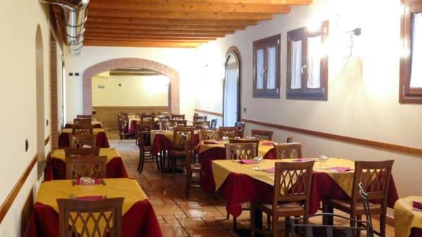 Salone ristorante - Trattoria Da Cecio, Oca