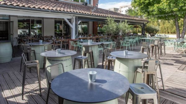 Terrasse - Sporting Eat Toulouse - Food Club, Toulouse