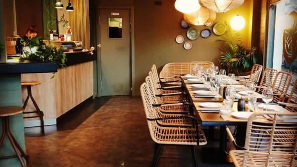 Sala del restaurante - Hanami, Castro Urdiales