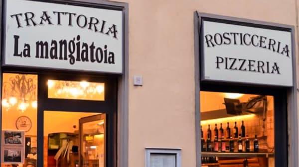 Facciata - La Mangiatoia, Florence