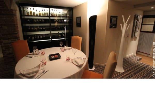 Table dressée - David Enjalran L'Esprit du Vin, Albi