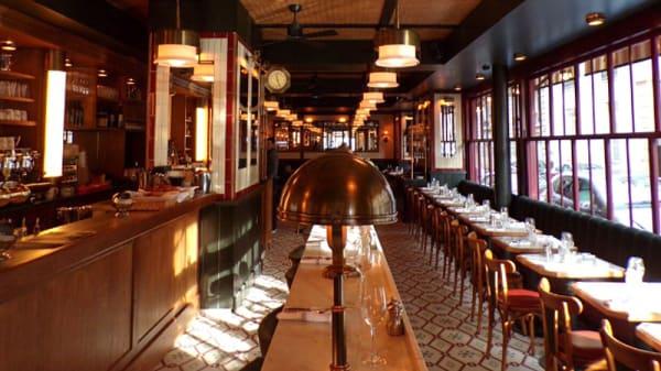 Salle du restaurant - Brasserie Victor Hugo Paris, Paris