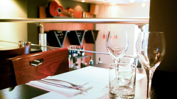 table dressée - Le Bistro Volney, Rennes