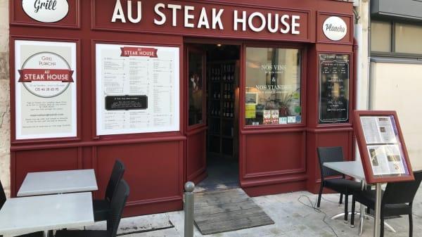 facade - Au Steak House, La Rochelle