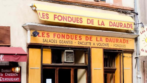 Devanture - Les Fondues de la Daurade, Toulouse