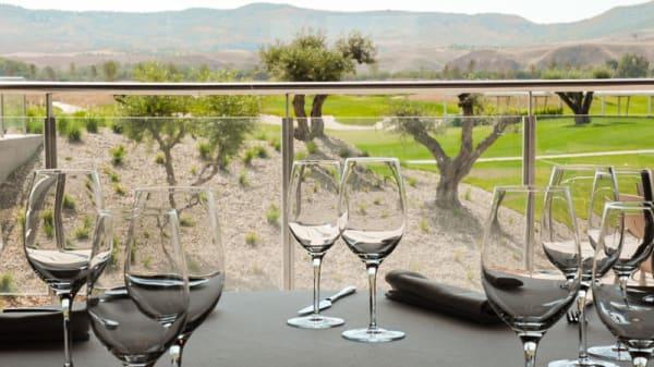 Panorámica desde el restaurante - El Encín Golf, Alcalá de Henares