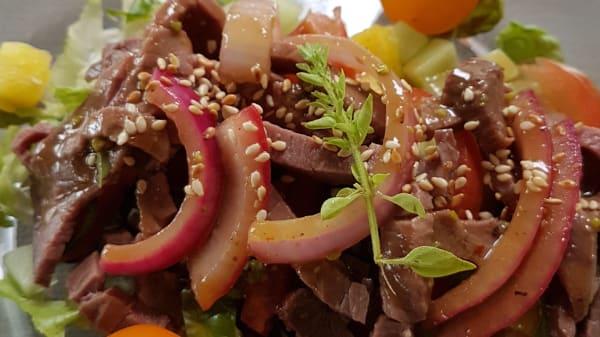Salade de bœuf Thaï - Entrée du jour - Restaurant du Golf des Templiers, Ivry-le-Temple