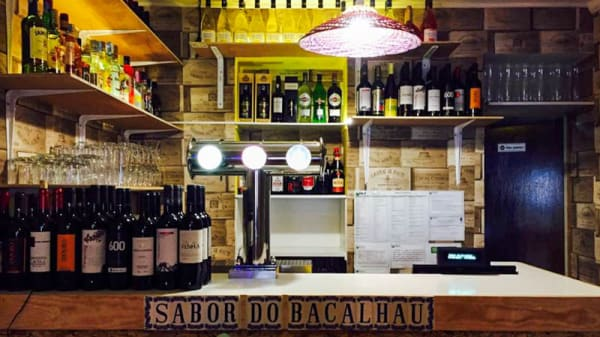 Sala do restaurante - Sabor do Bacalhau and Wine Bar, Lisbon