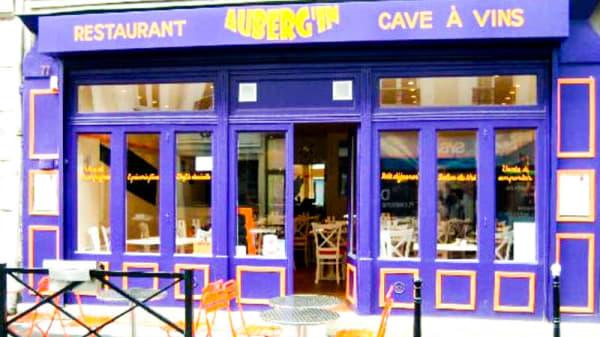 Entrée - Auberg'In, Clichy