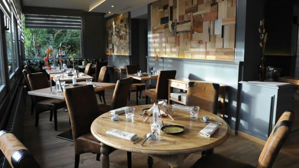 Salle du restaurant - La Pagerie, Gaillard