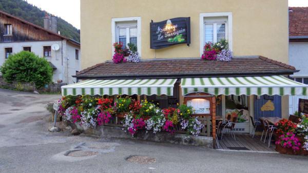 Restaurant - Auberge du Savagnin, Goumois