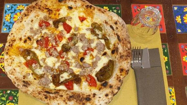 Lo Chef Consiglia - Pizzeria Oro di Napoli, Prato