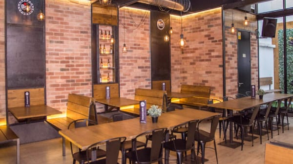 Vista sala - BCN Food & Beer, Barcelona