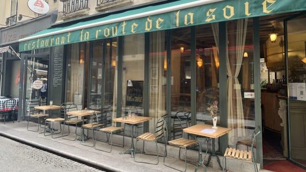 La Route de la Soie, Paris