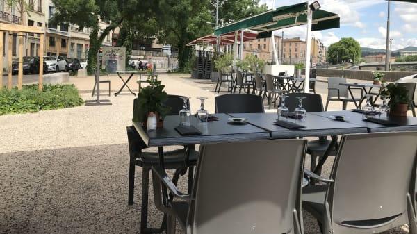Terrasse - Le Beef du Scize, Lyon