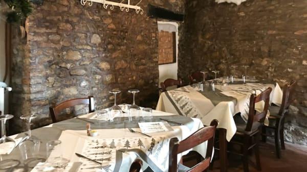 Vista sala - Taverna Paradiso, Gradara