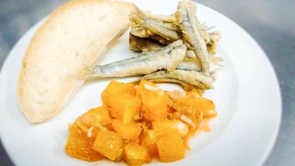 sugerencia del chef - La Buganvilla, Granada