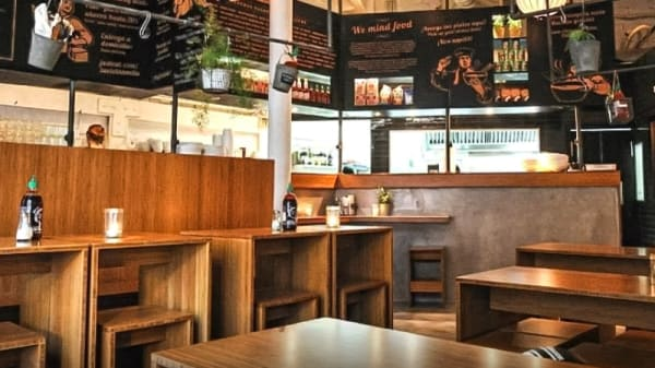 Sala del restaurante - La Vietnamita - Born, Barcelona