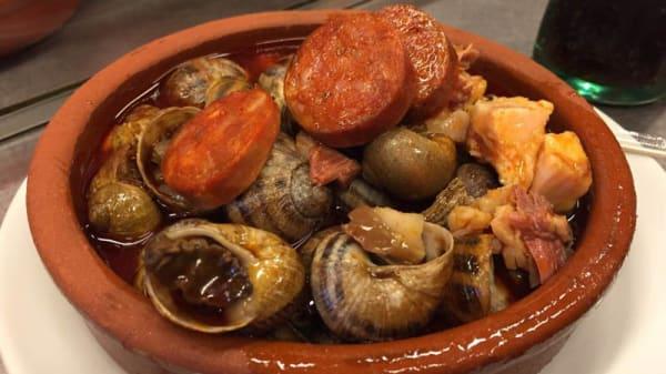 Sugerencia del chef - Casa Amadeo Los Caracoles, Madrid