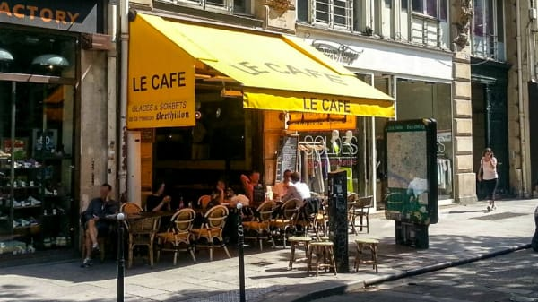 Devanture - Le Café, Paris