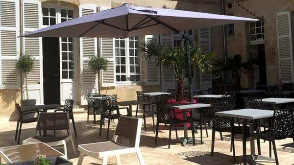 Vue de la terrasse - L'Authentique, Avallon