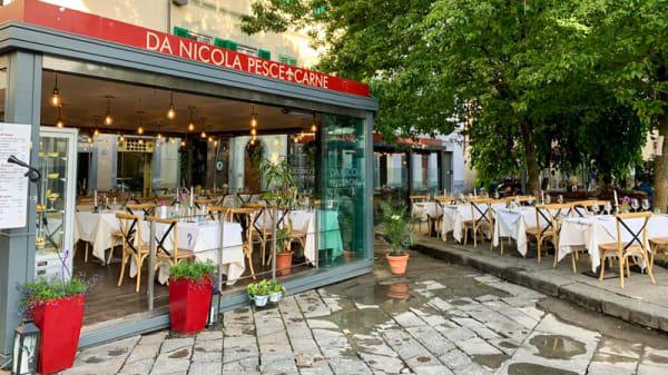 Entrata - Da Nicola - Pesce & Carne, Firenze
