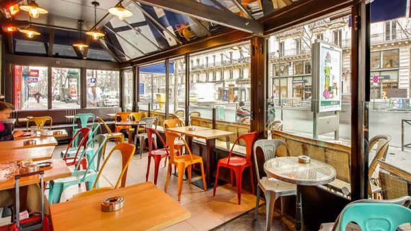 Terrasse chauffée - Café Le Capitole, Paris