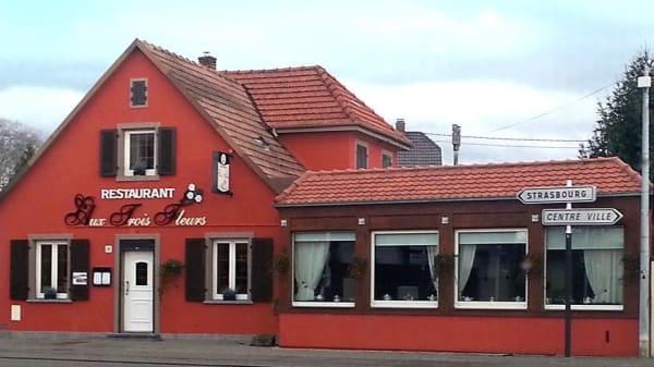 Restaurant - Aux Trois Fleurs, Illkirch-Graffenstaden