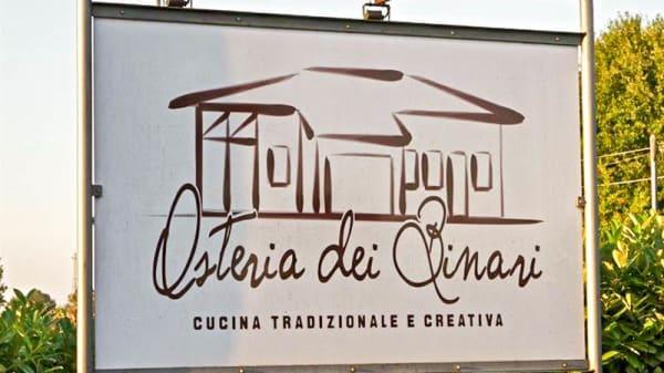 Entrata - Osteria Dei Binari, Cotignola