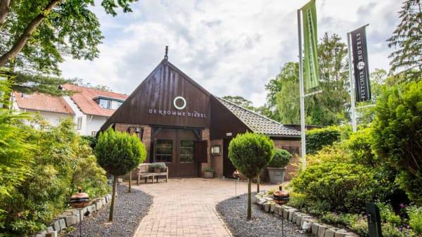 Pand - Restaurant De Kromme Dissel, Heelsum
