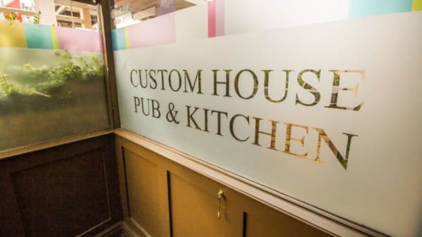 Custom House Pub, London