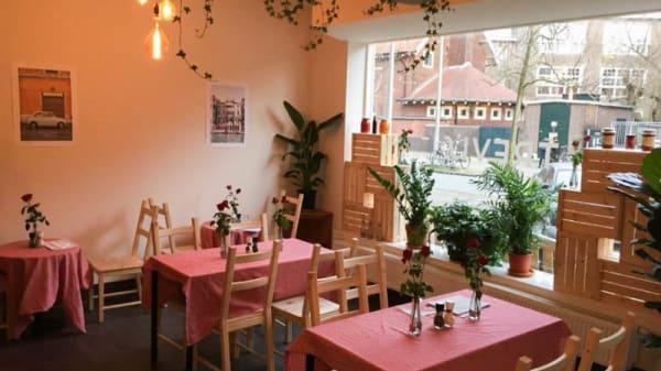 Het restaurant - Trevi's, Amsterdam