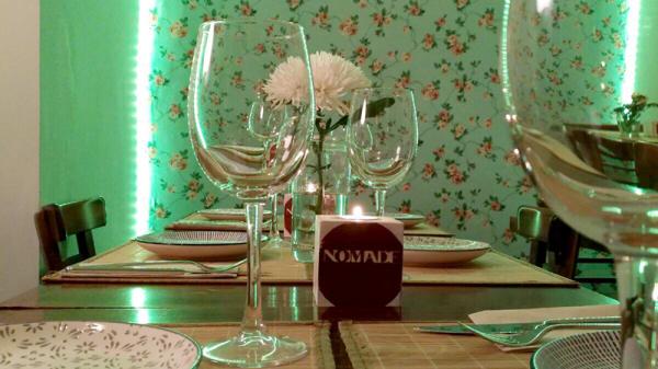 Detalle restaurante - Nomade - Calle Segovia, Madrid