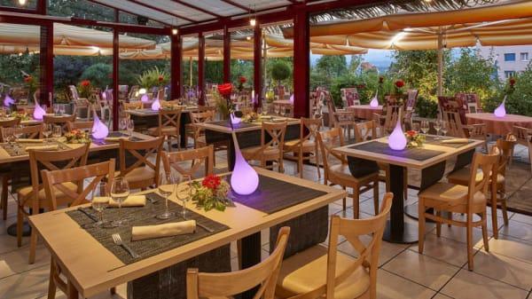 Restaurant La terrasse « Jardin d'hiver » - La Terrasse, Fribourg