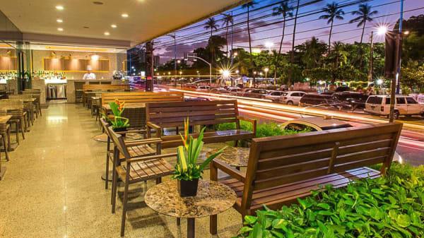 rw sala - Jangadeiro Hotel Beira Mar, Fortaleza