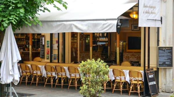 Devanture - Le Petit Marcel, Paris