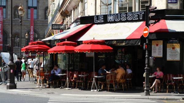Le Musset, Paris