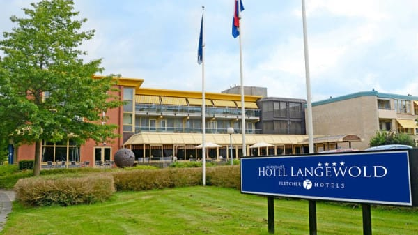 Ingang - Fletcher Hotel-Restaurant Langewold, Roden