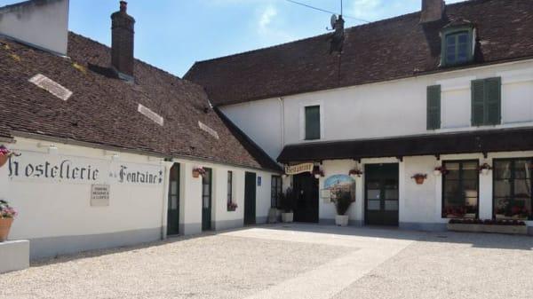 Façade - Hostellerie de la Fontaine d'Accolay