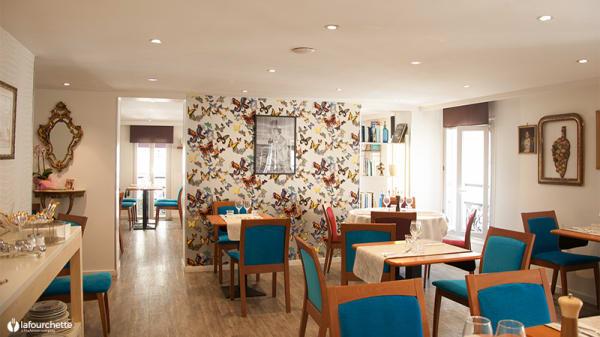 Salle du restaurant - Félicie, Marseille