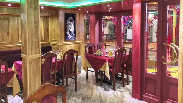 Salle du restaurant - Royal Sylhet, Le Touquet-Paris-Plage